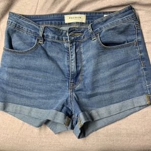 Pacsun high waisted shorts